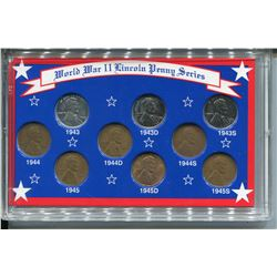 1943-1945 PENNIES SET (WWII LINCOLN SERIES)
