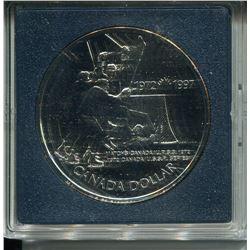 1973 SILVER DOLLAR (TEAM CANADA HOCKEY)