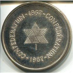 1967 SILVER COIN (CONFEDERATION OF CANADA)