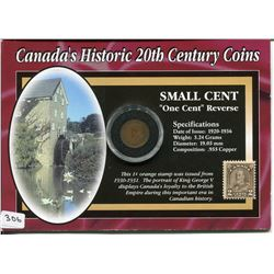 1936 'ONE CENT' REVERSE (CANADA'S HISTORIC 20TH CENTURY COINS)