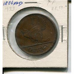 1933 XF COIN (IRELAND)