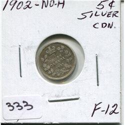 1902 CNDN SILVER NICKEL