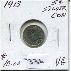 1913 CNDN SILVER NICKEL