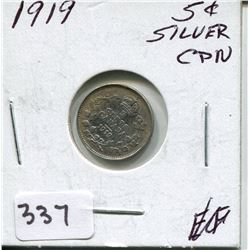1919 CNDN SILVER NICKEL