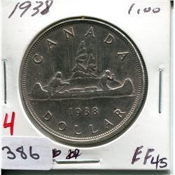 1938 CNDN SILVER DOLLAR