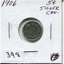 1906 CNDN SILVER NICKEL