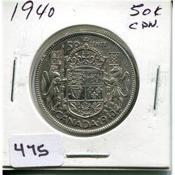 1950 CNDN 50 CENT PC