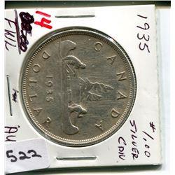 1935 CNDN DOLLAR *SILVER*
