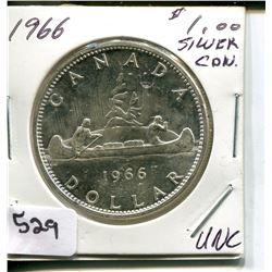 1966 CNDN DOLLAR *SILVER*