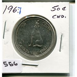 1964 CNDN 50 CENT PC *SILVER*