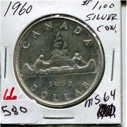 1961 CNDN SILVER DOLLAR