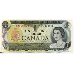 1973 CNDN $1 DOLLAR BANK NOTE (2 LETTER) *UNCIRCULATED*