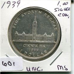 1939 CNDN DOLLAR *SILVER*