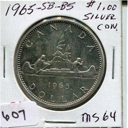 1965 SB B5 CNDN DOLLAR *SILVER*