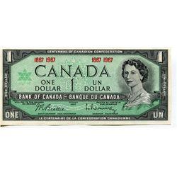 1967 CNDN $1 BANK NOTES (CENTENNIAL) *UNCIRCULATED*