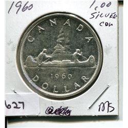 1960 CNDN DOLLAR *SILVER*