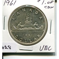 1961 CNDN DOLLAR *SILVER*