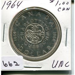 1964 CNDN DOLLAR *SILVER*