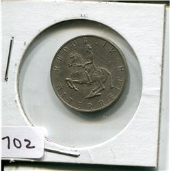 1971 FIVE SHILLINGS PC (AUSTRIAN)