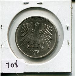 1975 FIVE MARK PC (GERMAN)