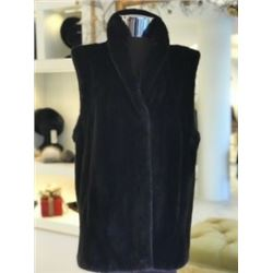 Yudofsky Mink Vest Reversible to Leather
