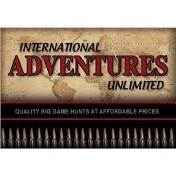 International Adventures Unlimited   Michael H. Grosse PO Box 1157 Gunnison, CO 81230 (970) 641-5369