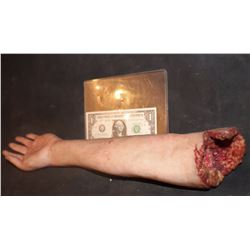 SILICONE SEVERED FOREARM MALE KEEPER QUALITY GORE!