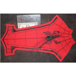 SPIDER-MAN FAR FROM HOME CHEST GLYPH ON SUIT FABRIC DISTRESS TEST