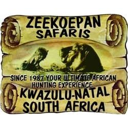 8 day south africa 2 hunters hunting 2x1, 10x cull Impala and 2x cull Warthog to be shared