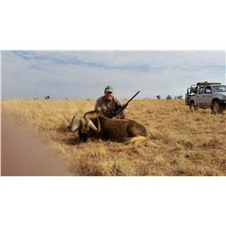 5 hunting days for two hunters plus arrival and departure days. Total of 7 days. Namibia hunting 2x1