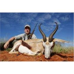 12 days south africa for 2 hunters sharing 10 trophy animals, 2 Black wildebeest 2 blue wildebeest 2
