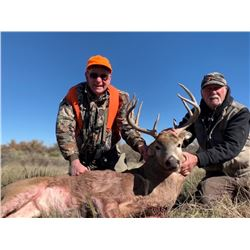 5 Day Wyoming Trophy Whitetail Rut Hunt on the Lisco Ranch for One Hunter Jack Cassidy