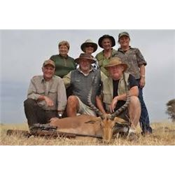 10 day south africa for 2 hunters and 2 observers includes all daily rates and trophy fees for 1 gol