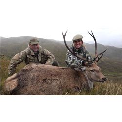 3 night 3 day for 1 Wild Free Range Scottish Red Deer. Location , Argyle Scotland  Methods , Spot an
