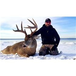 9 day Alberta whitetail deer and moose combo November 21-29th  2019 only, this is the last hunt avai