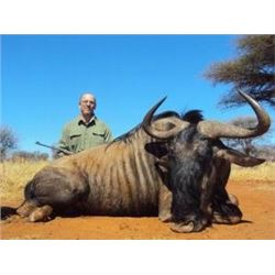 8 days 2 hunters and 2 observers in south africa, includes Golden Gemsbuck x 1, Golden Wildebeest x