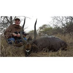 10 days includes trophy fee for two Nyala Bulls for two hunters and $1,000 total in trophy fee credi