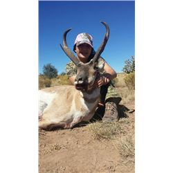 3 day New Mexico private land antelope hunt