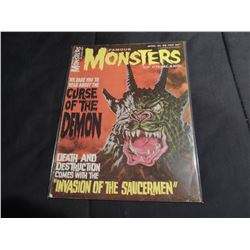 ZZ-CLEARANCE FAMOUS MONSTERS OF FILMLAND 38 RARE EARLY ISSUE