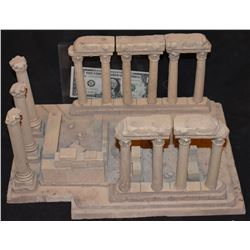 ZZ-CLEARANCE MINIATURE ANCIENT GREEK ROMAN RUINS FROM CRANT MCCUNE ARCHIVES 1