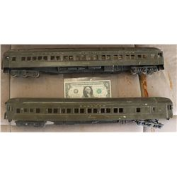 ZZ-CLEARANCE TRAINS ANTIQUE FILMING MINIATURES PAIR