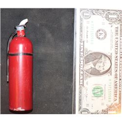ZZ-CLEARANCE THE ABYSS SCREEN USED MINIATURE FIRE EXTINGUISHER