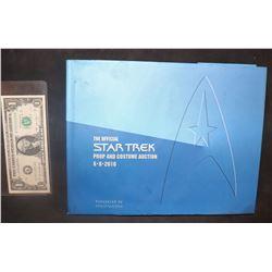 ZZ-CLEARANCE STAR TREK 2010 PROP AUCTION CATALOG