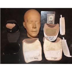 AMERICAN HORROR STORY FREAK SHOW CONJOINED TWINS SARAH PAULSON HEAD CASTING & ARM BRACES