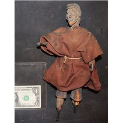 BASIL RATHBONE ANTIQUE FILMING MINIATURE WITH CLOTH WARDROBE ONLY KNOWN EXAMPLE!