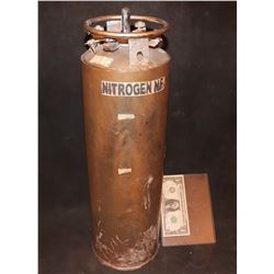 ZZ-CLEARANCE HARBINGER DOWN MINIATURE LIQUID NITROGEN TANK 2