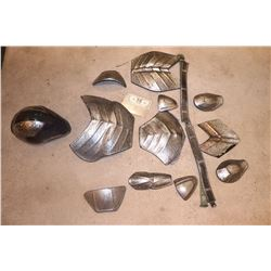 HUNGER GAMES LOT OF SCREEN USED SOLDIER ARMOR