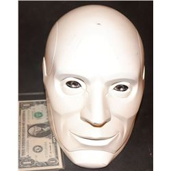 BICENTENNIAL MAN PROTOTYPE HEAD SCREEN USED AS A SET PIECE