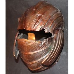 CHRONICLES OF RIDDICK SCREEN MATCHED NECROMONGER HELMET WITH BATTLE DAMAGE