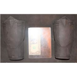 CAPTAIN MARVEL PROTOTYPE MATCHED PAIR OF GAUNTLETS
